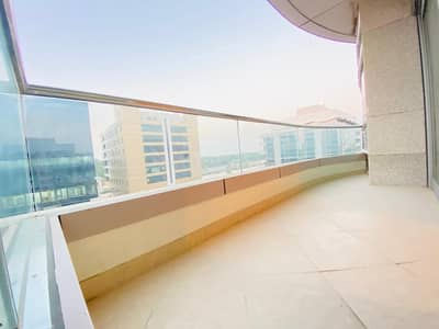 Huge Size 3 Bedroom With Maids Room Laundry Room Balcony Parking Apartment At Al Qurm For 100k