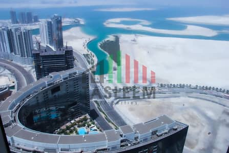 شقة 3 غرف نوم للايجار في جزيرة الريم، أبوظبي - Panoramic Sea View   3BR W/Maid   Move-in Ready