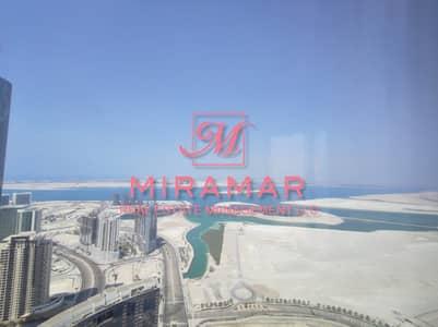 شقة 3 غرف نوم للايجار في جزيرة الريم، أبوظبي - AMAZING SEA VIEW | HIGH FLOOR | LUXURY 3B+MAIDS APARTMENT | SMART LAYOUT