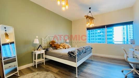 2 Bedroom Apartment for Rent in Dubai Marina, Dubai - Upgraded|Sea View|Higher Floor| 2BR+Store|Mag 218