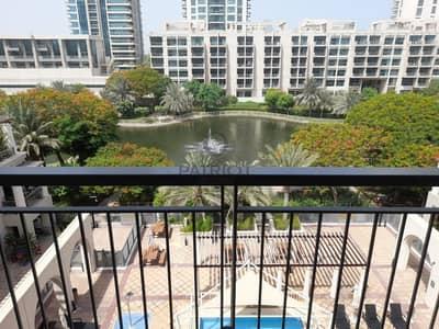 فلیٹ 2 غرفة نوم للايجار في ذا فيوز، دبي - EXCELLENT 2 BD APARTMENT FOR RENT WITH BIG BALCONY