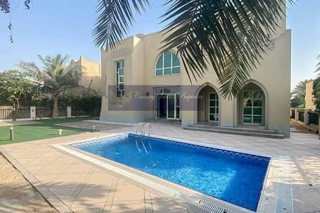 فیلا 4 غرف نوم للايجار في جزر جميرا، دبي - Available now   Private Garden   4 Cheques