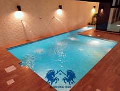 For sale a villa with a swimming pool with a very modern design and the finishing is more than wonderful, free ownership for all nationalities directl