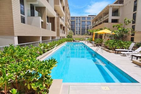 1 Bedroom Flat for Sale in Al Raha Beach, Abu Dhabi - Vacant  Cozy Unit In An Outstanding Location