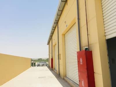 Warehouse for Rent in Al Jurf, Ajman - Brand new warehouse with mezzanine for rent in Al jurf industrial 3