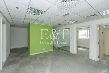 مکتب  للايجار في شارع الشيخ زايد، دبي - Hotel Ambiance   Ideal for New Setup   Ready