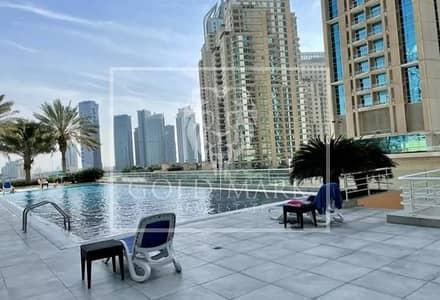 2 Bedroom Apartment for Rent in Dubai Marina, Dubai - Bright Cozy | Chiller Free | Spacious Balcony