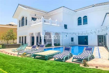 فیلا 7 غرف نوم للايجار في نخلة جميرا، دبي - Bills included | Luxury Furnishings | 7 Bedrooms