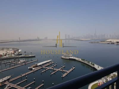 3 Bedroom Apartment for Sale in The Lagoons, Dubai - SPACIOUS UNBSTRUCTED VIEW |3BR +MAIDS | FULL CREEK AND BURJ VIEW
