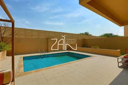 5 Bedroom Villa for Rent in Al Raha Golf Gardens, Abu Dhabi - Spacious Single Row 5 BR Villa with Private Pool