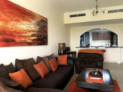 1 Bedroom Apartment for Rent in Dubai Sports City, Dubai - Fully Furnished  One Bedroom With Golf Course View