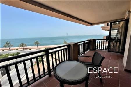 شقة 1 غرفة نوم للايجار في نخلة جميرا، دبي - Largest Layout 1 Bed Furnished