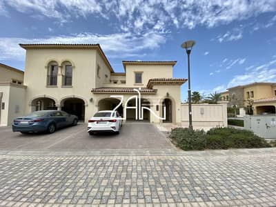 3 Bedroom Townhouse for Rent in Saadiyat Island, Abu Dhabi - Corner Luxurious 3 BR TH Close to Community Center