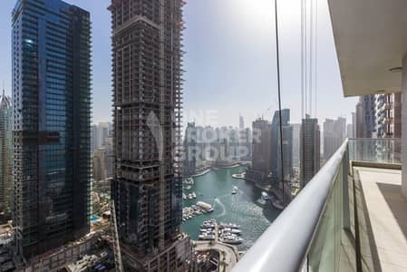 3 Bedroom Apartment for Sale in International City, Dubai - Large 3BR+m, partial Marina view, rented