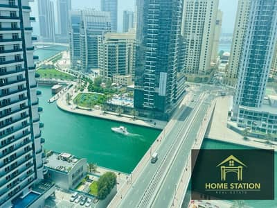 فلیٹ 2 غرفة نوم للايجار في دبي مارينا، دبي - Upgrad Flooring 2 BR+Maid Marina View Chiller Free