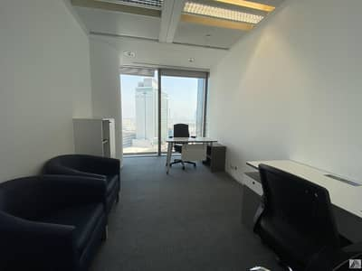 Office for Rent in Bur Dubai, Dubai - Most Desirable Independent Office With High View In Burjuman Business Center Linked With Metro