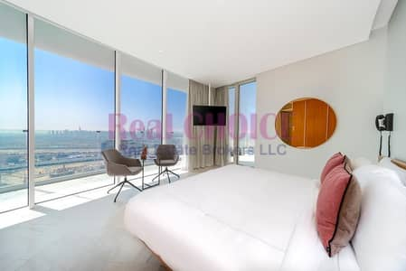 2 Bedroom Hotel Apartment for Sale in Jumeirah Village Circle (JVC), Dubai - Infinity Pool | Luxurious Furniture | Mid Floor
