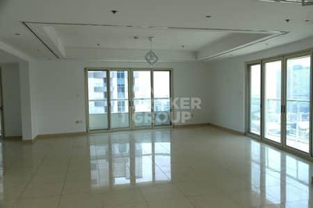 فلیٹ 4 غرف نوم للبيع في دبي مارينا، دبي - Spacious 4 BR + Terrace with marina view