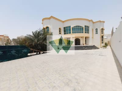 6 Bedroom Villa for Rent in Shakhbout City (Khalifa City B), Abu Dhabi - Stunning Stand Alone 6M-Br Villa With Huge Yard and Driver Room