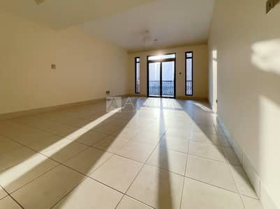 2 Bedroom Flat for Rent in Old Town, Dubai - Biggest Layout | 2 Bed + Study | Balcony