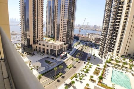 1 Bedroom Flat for Rent in The Lagoons, Dubai - Creek And Pool View   Modern 1 BR   New Tower