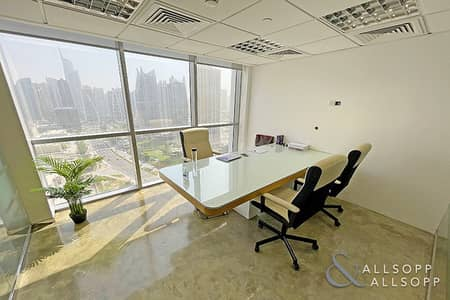 Office for Sale in Jumeirah Lake Towers (JLT), Dubai - Fully Fitted | Partitioned | High Floor Unit