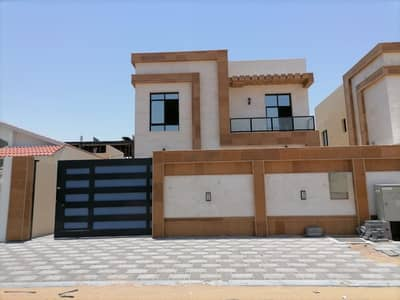 3 Bedroom Villa for Sale in Al Zahia, Ajman - Villa for sale in Ajman - Al Zahia area at an attractive price, close to the mosque and directly on the asphalt street, with central air conditioning.