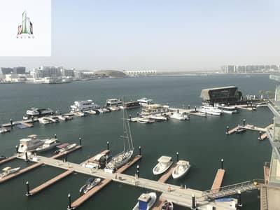 فلیٹ 1 غرفة نوم للايجار في شاطئ الراحة، أبوظبي - FULL SEA VIEW APARTMENT   WITH GOOD CONDITION