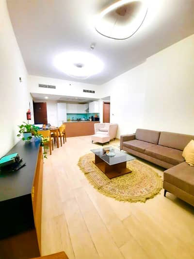 1 Bedroom Flat for Rent in Al Jaddaf, Dubai - Executive designed 1BR with Magnificent and unreal outdoor space and panoramic veiw