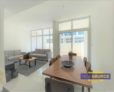 تاون هاوس 3 غرف نوم للبيع في أكويا أكسجين، دبي - Fully Furnished | 3 Bed + Maid Townhouse | R2M-14 type