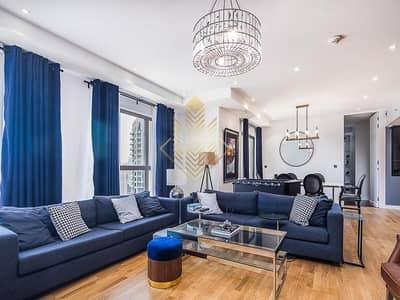 فلیٹ 4 غرف نوم للبيع في جميرا بيتش ريزيدنس، دبي - Stunning 4BR+M Upgraded Rented Full Marina View