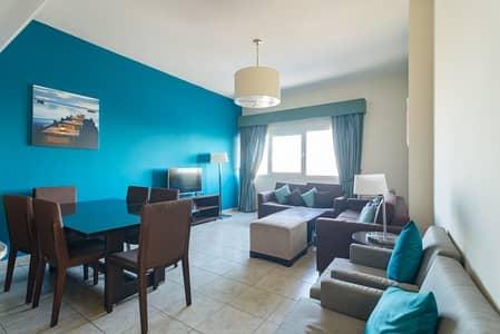 شقة 2 غرفة نوم للايجار في مثلث قرية الجميرا (JVT)، دبي - Large 2 Bed | Fully Furnished | JVT Views