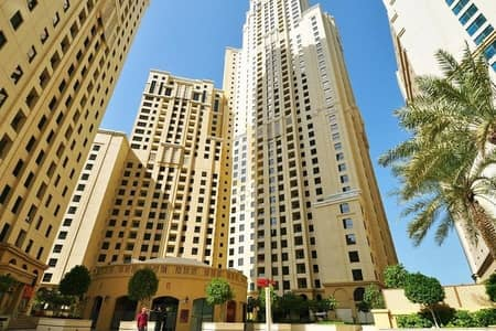 3 Bedroom Apartment for Rent in Jumeirah Beach Residence (JBR), Dubai - 3 Bedroom + Maids | Walking Distance to the Beach | Shams 1