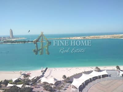 4 Bedroom Flat for Rent in Hamdan Street, Abu Dhabi - spacious 4br  duplex with amazing view on khalidyia cornish