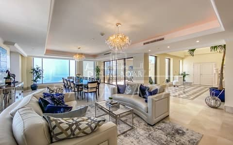 4 Bedroom Penthouse for Sale in Jumeirah Beach Residence (JBR), Dubai - UPGRADED | FULL SEA VIEW | PRIVATE POOL