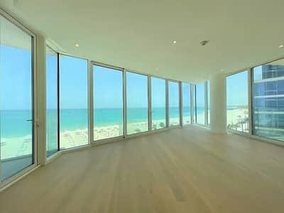 3 Bedroom Flat for Rent in Saadiyat Island, Abu Dhabi - 3 Beds + Maid | Full Sea View | Vacant