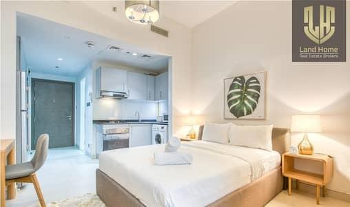Studio for Rent in Al Furjan, Dubai - Fully Furnished | Chiller FREE | City view