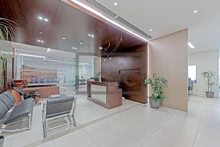 طابق تجاري  للبيع في الخليج التجاري، دبي - Furnished Floor| 41 Parking Spaces |Bay Square
