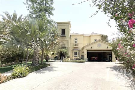 4 Bedroom Villa for Rent in Jumeirah Islands, Dubai - Private Pool I UnFurnished I Vacant July