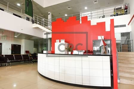 Warehouse for Sale in Al Quoz, Dubai - FreeHold G+5 Main Road Offices with AC