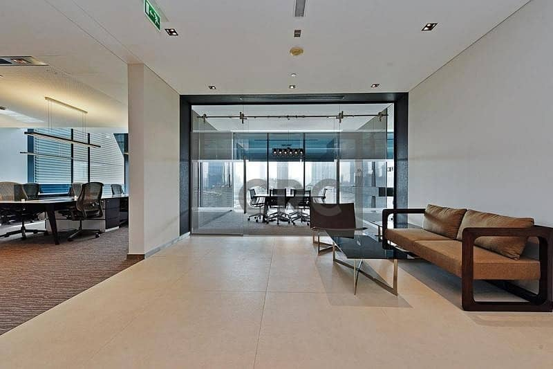Fully Fitted | Luxury Office | For Rent | DIFC