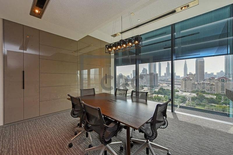 2 Fully Fitted | Luxury Office | For Rent | DIFC