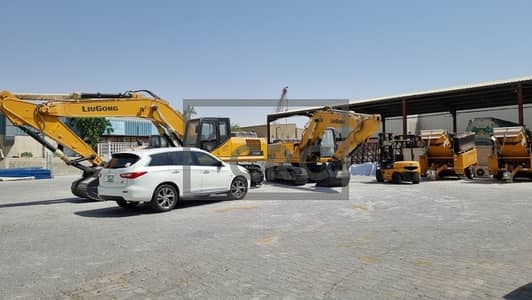 Plot for Rent in Al Quoz, Dubai - Open Land in Al Quoz |  Neat & Clean | Gated