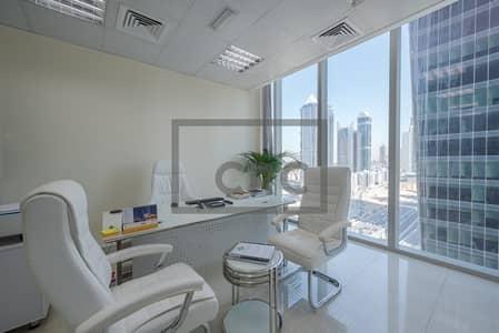 مکتب  للبيع في الخليج التجاري، دبي - Partitioned | Vacant on Transfer| 4 Cabins