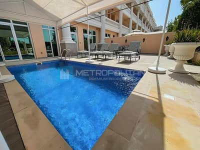 شقة 4 غرف نوم للبيع في نخلة جميرا، دبي - Fully Furnished Duplex | Sea view | Private Pool