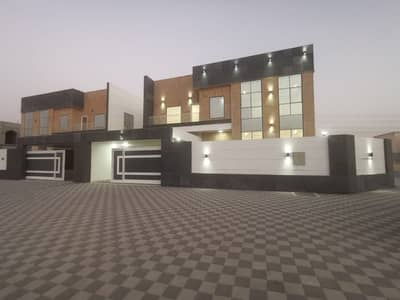 4 Bedroom Villa for Sale in Al Yasmeen, Ajman - Own a modern villa on the corner of two streets at an attractive negotiable price Villa in an excellent location on the border of Sharjah