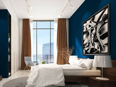 Studio for Sale in Jumeirah Village Circle (JVC), Dubai - Fully Furnished  Studio Unit in  O2 Tower JVC