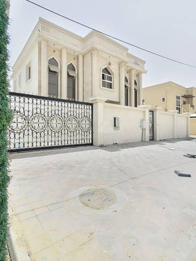 5 Bedroom Villa for Rent in Al Rawda, Ajman - BRAND NEW VILLA CENTRAL AC FOR RENT 5 BEDROOMS HALL IN AL RAWDA-1 AJMAN  RENT 95,000/- AED YEARLY