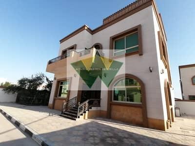5 Bedroom Villa for Rent in Mohammed Bin Zayed City, Abu Dhabi - Nice 5 Master Bedroom Villa With Garden