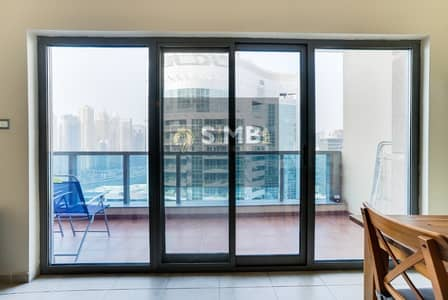 1 Bedroom Flat for Rent in Dubai Marina, Dubai - Furnished One Bedroom with Full Marina view